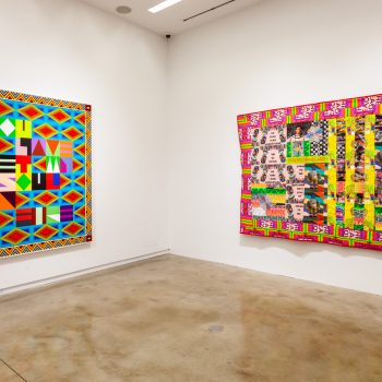 Acid Abstraction: A Review of Jeffrey Gibson at Kavi Gupta
