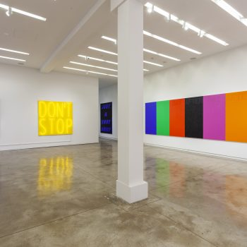 Don't Stop: A Review of Deborah Kass at Kavi Gupta