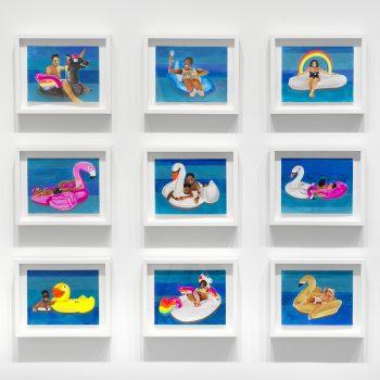 Joy as Resistance: A Review of Derrick Adams at Rhona Hoffman Gallery