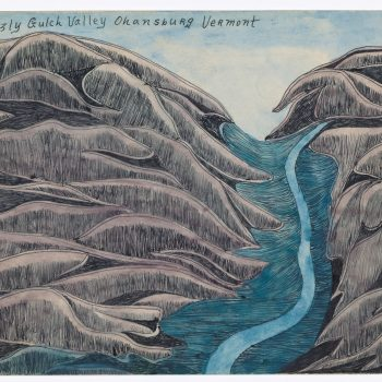 Out of Sight, Out of Line: A Review of Joseph E. Yoakum at the Art Institute of Chicago