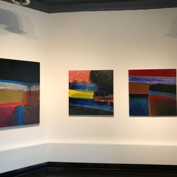 Abstract Painting With a Passion for Controlled Violence: A Review of Stanley Dean Edwards at Oliva Gallery