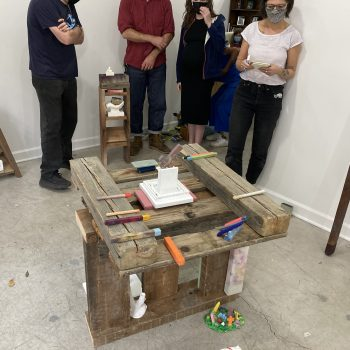 Rethinking Exhibition Making: A Review of Mike Lopez at Material